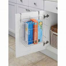 interdesign classico cabinet waste and storage basket