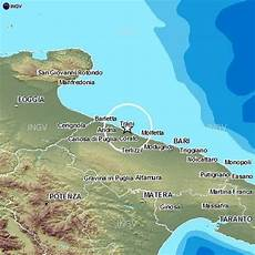 reale bari terremoti in tempo reale nuove scosse provincia di bari e