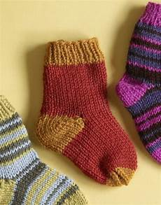 knit for kids knit child s two color socks in brand wool ease