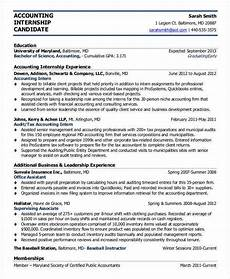 Resume For Accounting Internship 44 Sample Resume Templates Free Amp Premium Templates