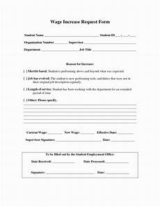 Pay Rise Letter Template Wage Increase Form New No Salary Increase Letter Template