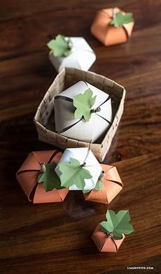 diy paper pumpkin lia griffith