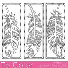 Malvorlagen Lesezeichen Kostenlos Printable Feathers Coloring Page Bookmarks For Adults Pdf