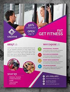 Training Advertisement Template Free Fitness Gym Flyer Template Psd Free Flyer Templates
