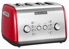 tostapane kitchenaid prezzo tostapane a 4 scomparti rosso ikmt421 r kitchenaid