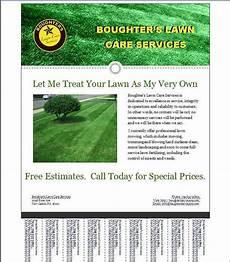 Lawn Maintenance Flyers Lawn Care Template Free Joy Studio Design Gallery Best