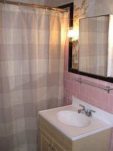 tiled shower ideas for bathrooms 40 vintage pink bathroom tile ideas and pictures 2020