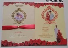 undangan kosong surabaya undangan hardcover tni eksklusif dengan pita merah ratu