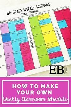 Make Your Own School Schedule 1000 Images About Middle School Freebies On Pinterest