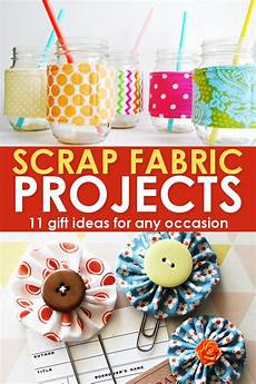 11 scrap fabric projects easy fast free gift ideas