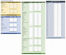 Excel Startup Template Free Startup Plan Budget Amp Cost Templates Smartsheet