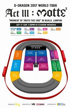 G Dragon Seating Chart Motteinkl Ticket Prices For G Dragon S World Tour In