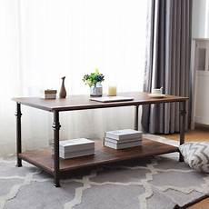 gymax 2 tier coffee accent end table sofa side living room