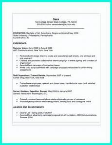 Ms Word Resume Template 2007 The Perfect College Resume Template To Get A Job How To