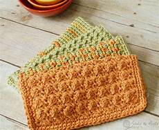 crochet dishcloths 4 and easy patterns petals to