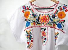 food for thought fund 8 sold mexican embroidered smock