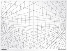 Perspective Graph Paper 3 Point Perspective Grid Transparency Sheet