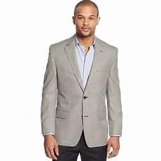 izod sport coat black and grey minicheck in gray for