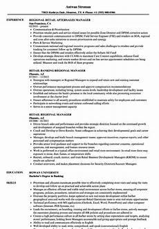 Regional Manager Resume Examples Regional Manager Retail Resume Samples Velvet Jobs