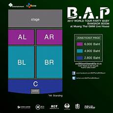 Bap Chart Bys Update Ticket Link Seating Chart And Prices B A P