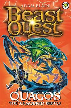 beast quest quagos the armoured beetle by adam blade