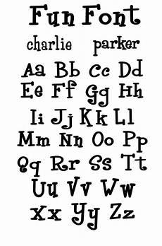 Fun Fonts Fun Font Cool Fonts