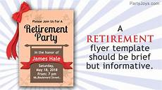 Retirement Party Flyers Here S A Retirement Flyer Template For A Memorably Grand