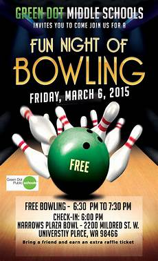 Bowling Flyer Bowling Flyer Green Dot Public Schools Washington State