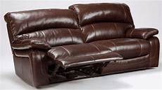 damacio brown 2 seat reclining sofa from