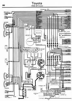 Toyota Crown 1968 69 Wiring Diagrams Online Manual Sharing