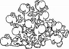 malvorlagen mario und yoshi crafted world 49 best mario yoshi coloring pages images on