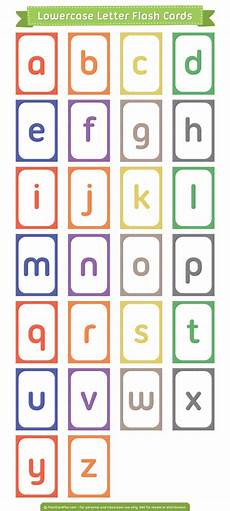 Lowercase Letters Flash Cards Free Printable Lowercase Letter Flash Cards Download Them