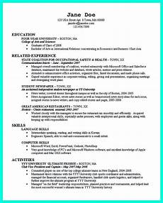 Student Resume For College Application Cool Best College Student Resume Example To Get Job Instantly