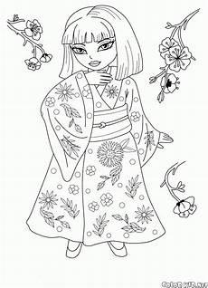 malvorlagen prinzessin aus japan