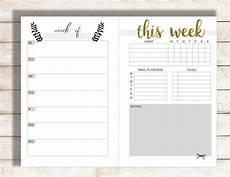 Family Schedule Organizer Editable Weekly Planner Printable Weekly Calendar Family
