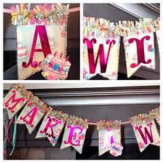 Birthday Banner Maker Birthday Banner Make A Wish My Crafts Pinterest