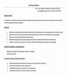 Resume Templates For Customer Service Representatives 22 Best Customer Service Representative Resume Templates