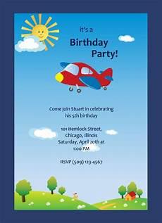 Birthday Invitations For Boy Invitation Card Birthday Party For Boy
