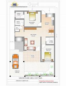 Floor Plans For Houses In India Contemporary India House Plan 2185 Sq Ft Kerala Home