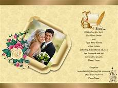Wedding Invitation Card With Photo Wedding Invitation Card Add On Templates Download Free