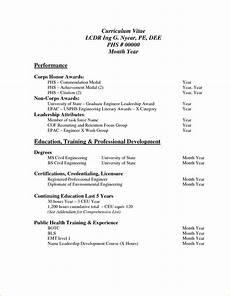 Example Of Curriculum Vitae For Job Application Sample Curriculum Vitae For Job Application Pdf Basic