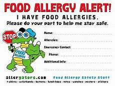 Allergy Chart For Child Care Food Allergy List Template For Daycare Google Search