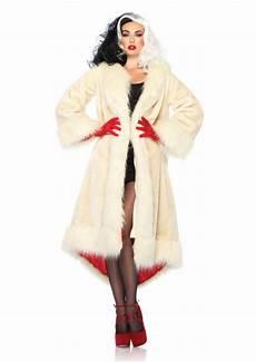 cruella faux fur coat satin lined faux fur coat w shawl