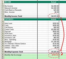 How To Budget My Money How To Budget Step 2 Income Vs Expense
