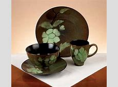 Green Shadows 16 piece Dinnerware Set   10856008