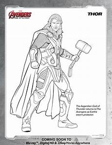 infinity war thor coloring pages colouring mermaid