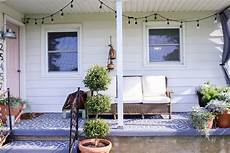 Farmhouse Front Porch Lights Comfortable Farmhouse Front Porch Makeover