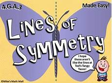 Line Of Symmetry Powerpoint Recognize A Line Of Symmetry Powerpoint Only By Mike S