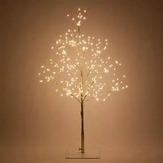 Tree Lights Wintergreen Lighting 3 Ft Gold Lighted Twig Tree With 270