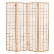 new folding 4 panel room divider japanese style 63 quot x66 9